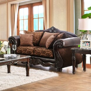 Buy clear Dolton Traditional Loveseat by Astoria Grand Reviews (2019) & Buyer's Guide