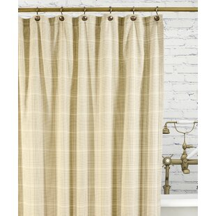 Morrison Cotton Plaid Single Shower Curtain