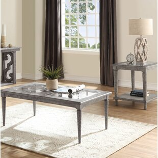 Candice 2 Piece Coffee Table Set