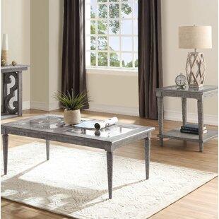 Candice 2 Piece Coffee Table Set