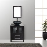 Domingues 24 Single Bathroom Vanity Set with Mirror by Bay Isle Home