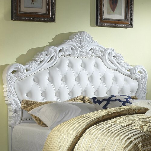Paladin Classic Style Queen Upholstered Panel Headboard