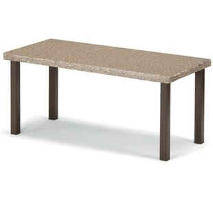 Synthestone Tables Aluminum Coffee Table