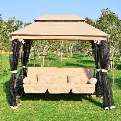 Debora Patio Porch Swing & Darby Home Co Debora Patio Porch Swing u0026 Reviews | Wayfair