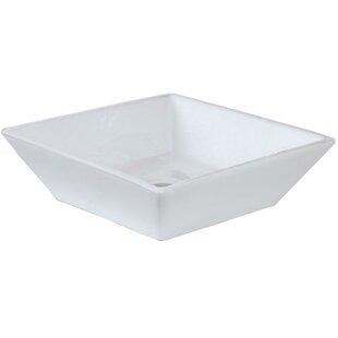 Shop For Ceramic Square Vessel Bathroom Sink ByAmerican Imaginations