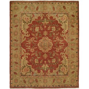 Dumka Hand-Knotted Brownstone Brick Area Rug By Meridian Rugmakers