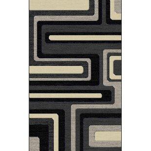 Compare Milani Hand-Tufted Gray/Black/Cream Area Rug ByOrren Ellis