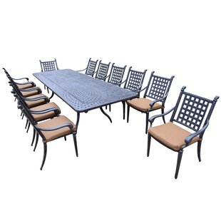 Arness 18 Piece Bar Height Dining Set