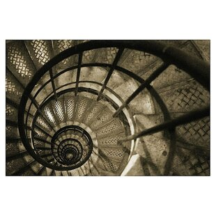 Spiral Staircase In Arc De Triomphe By Christian Peacock Photographic Print