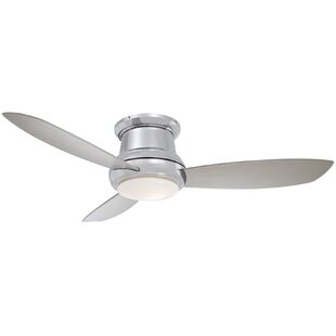 Polished nickel ceiling fans youll love wayfair save to idea board brushed nickel mozeypictures Image collections