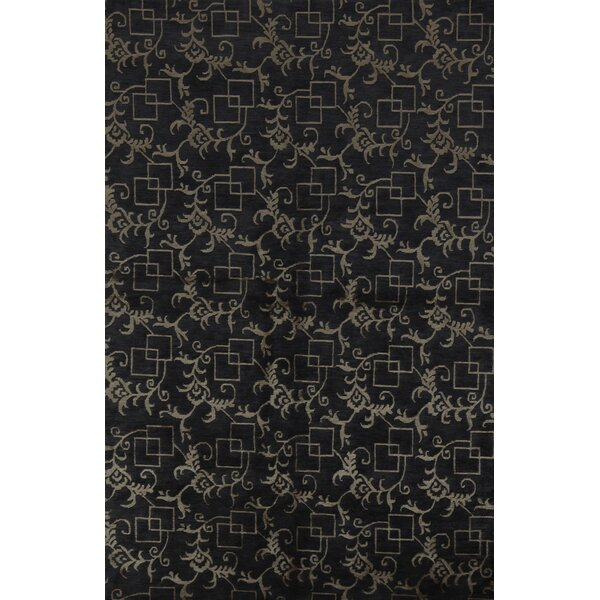 Bokara Rug Co Inc Himalayan Floral Hand Knotted Brown Area Rug Wayfair
