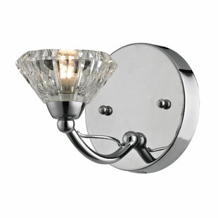 Guide to buy Kirkwood 1-Light Bath Sconce By House of Hampton