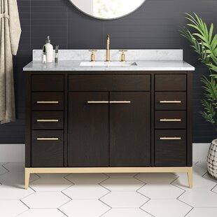 Modern 48 Inch Backsplash Included Bathroom Vanities Allmodern