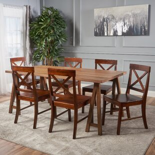 Williamsville Farmhouse 7 Piece Dining Set