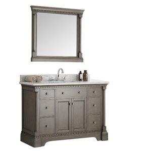Kingston 48 Single Bathroom Vanity Set With Mirror