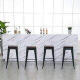 Counter & Bar Stool (Set of 4) by 17 Stories