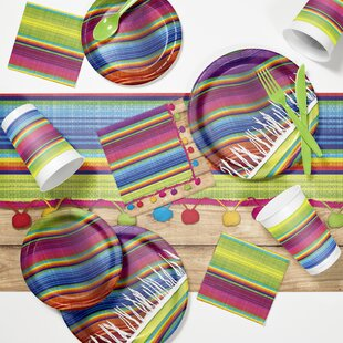 Serape Fiesta Tableware Set
