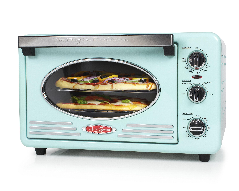 Nostalgia Electrics 0.7 Cu. Ft. Retro Series Convection Toaster Oven ...