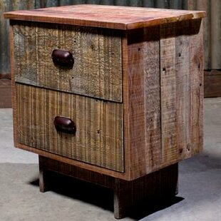 Eddie 2 Drawer Nightstand by Design Tree Home