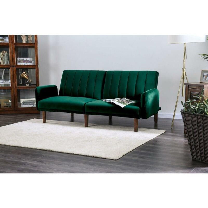 Rebecca Modern Convertible Sofa