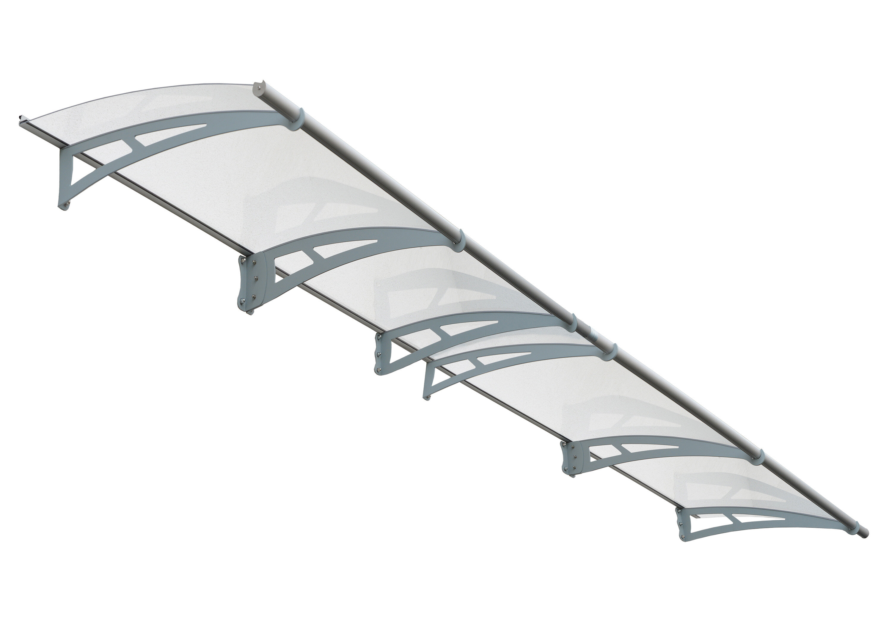 Palram Aquila™ 4100 13.5 ft. W x 3 ft. D Door Awning | Wayfair