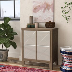 Leanora Wood 2 Door Accent Cabinet