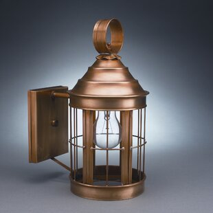 Purchase Heal 1-Light Outdoor Wall Lantern By Northeast Lantern