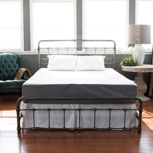 Meadows Weathered Metal Foldable Panel Bed