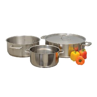 Brazier Sauce Pan with Lid
