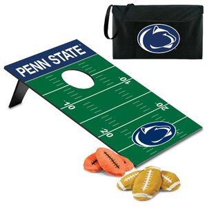 NCAA Bean Bag Throw Football Cornhole