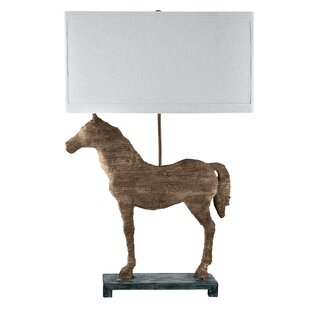 Merrimac Carved Horse 31 Table Lamp