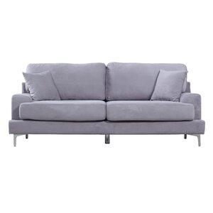 Ledersofa modern  Modern & Contemporary Plush Sofa | AllModern