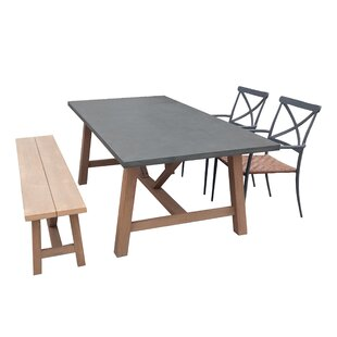 Valles 4 Piece Dining Set