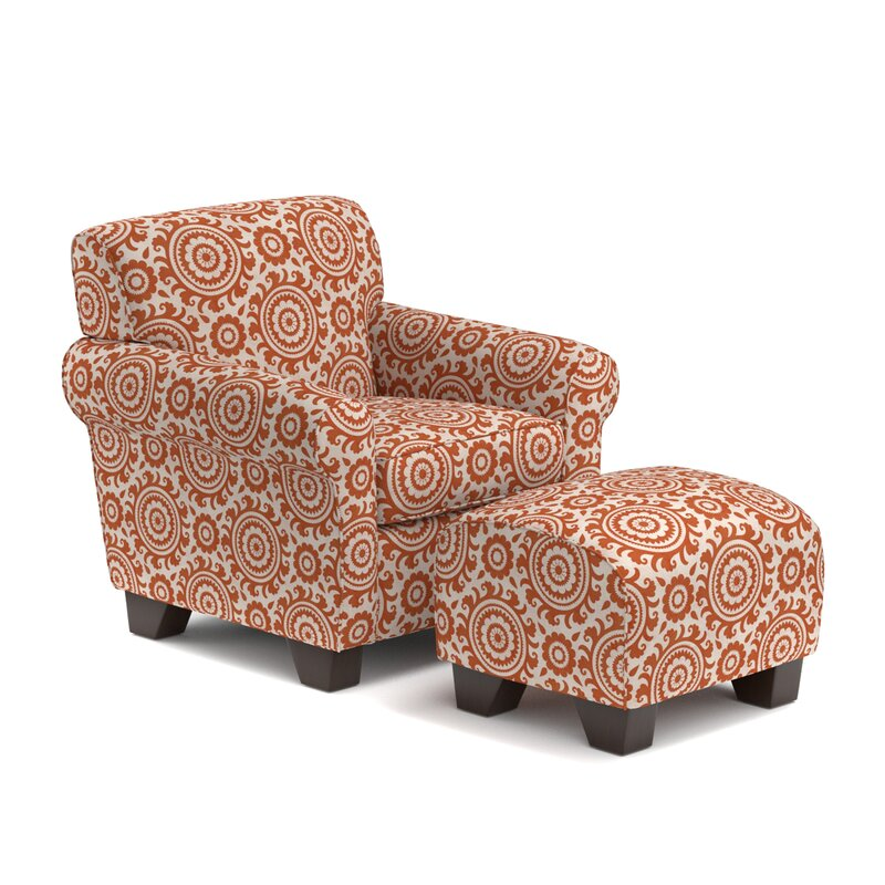 Awesome Clarke Armchair And Ottoman