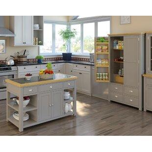 harris kitchen island with granite top - Granite Kitchen Island