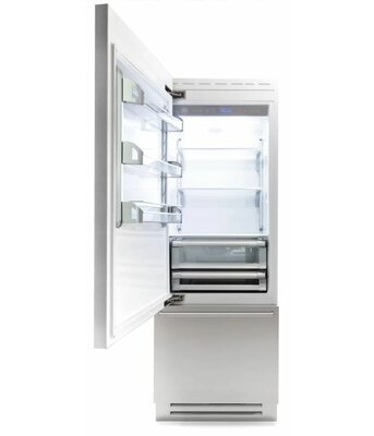14 Cu Ft Counter Depth Bottom Freezer Refrigerator ...