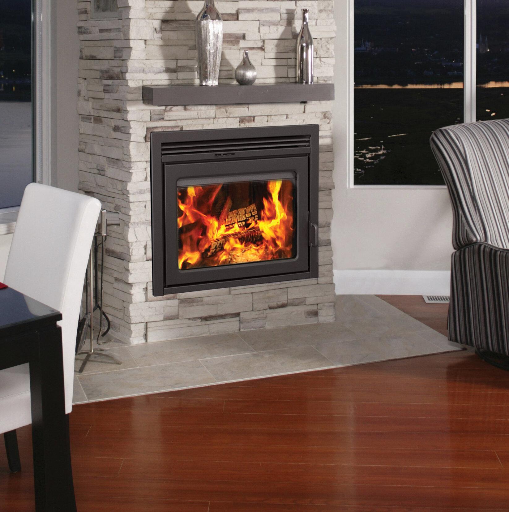 Tremendous Supreme Fireplaces Inc Galaxy Fireplace Insert Wayfair Ca Interior Design Ideas Gentotryabchikinfo