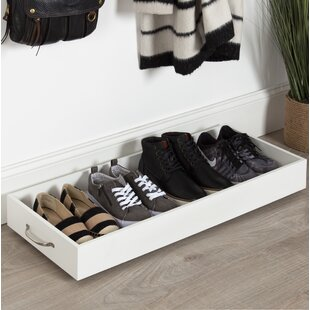 Savings Multipurpose Rolling Wooden Boot/Shoe Storage By Alcott Hill