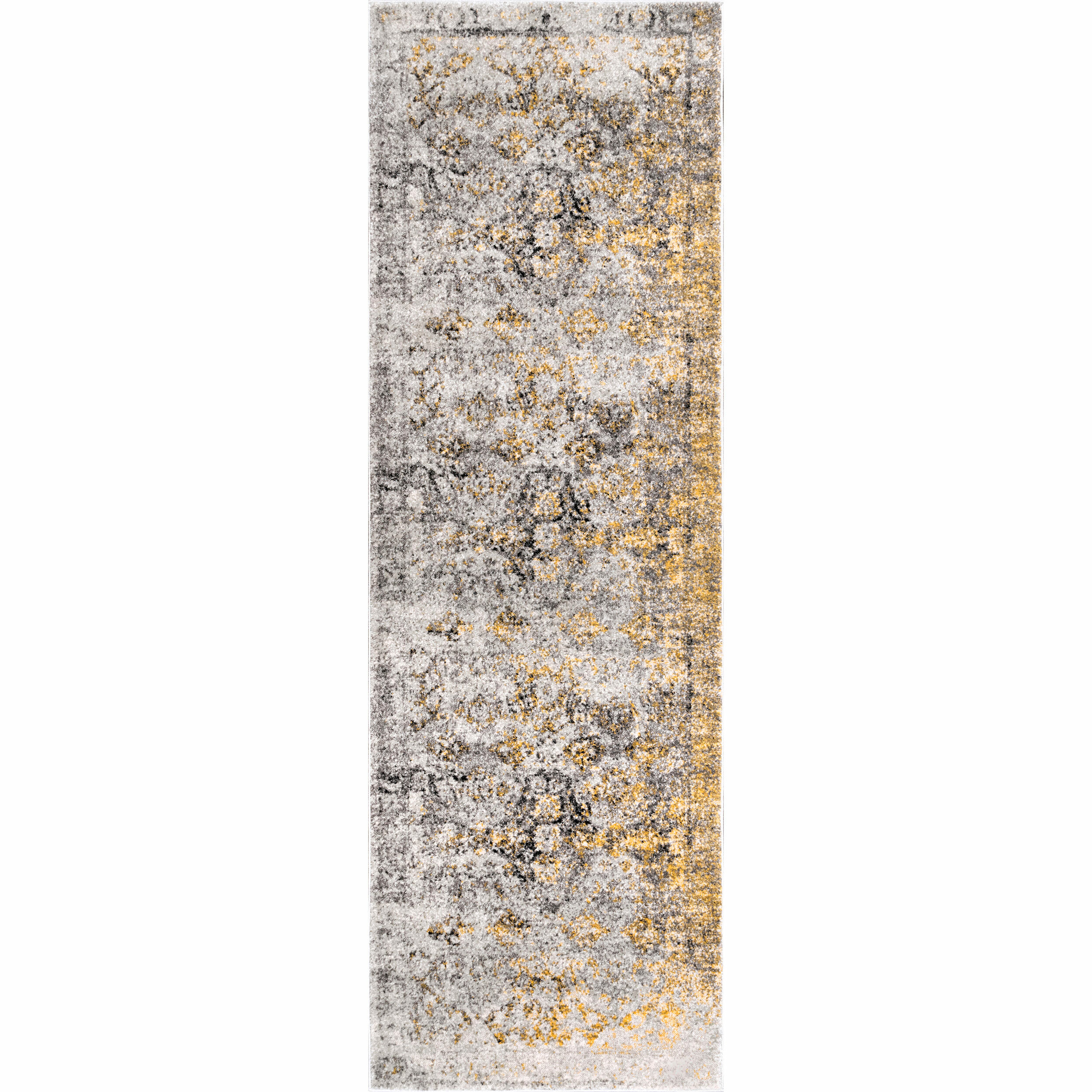 World Menagerie Reese Gold Area Rug Wayfair