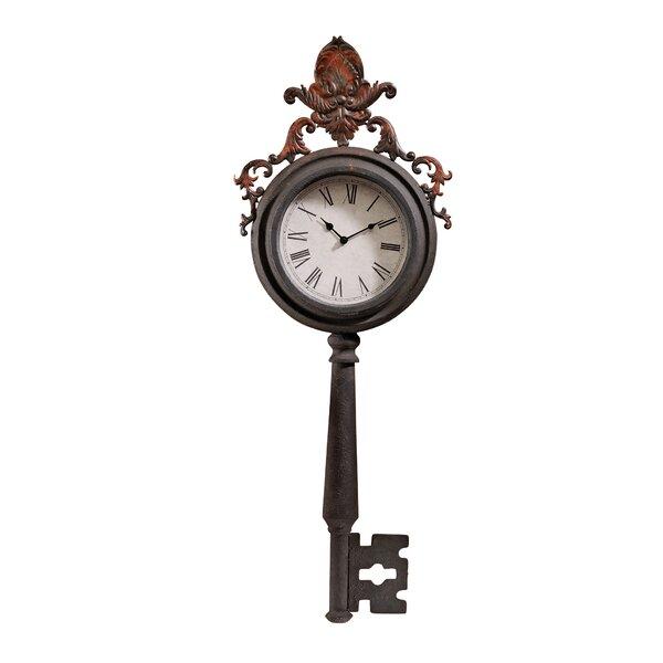 Design Toscano Unlocking Time Key Wall Clock Reviews Wayfair