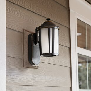 Comparison Churchwell Traditional 1-Light Outdoor Wall Lantern By Darby Home Co