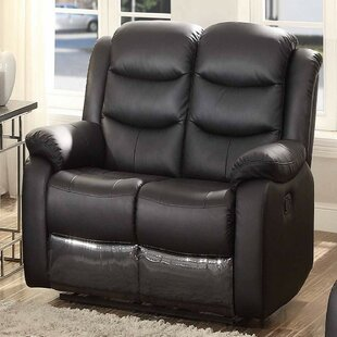 Mosely Transitional Glider Reclining Loveseat