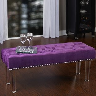 Bouton Upholstered Bench by Willa Arlo Interiors