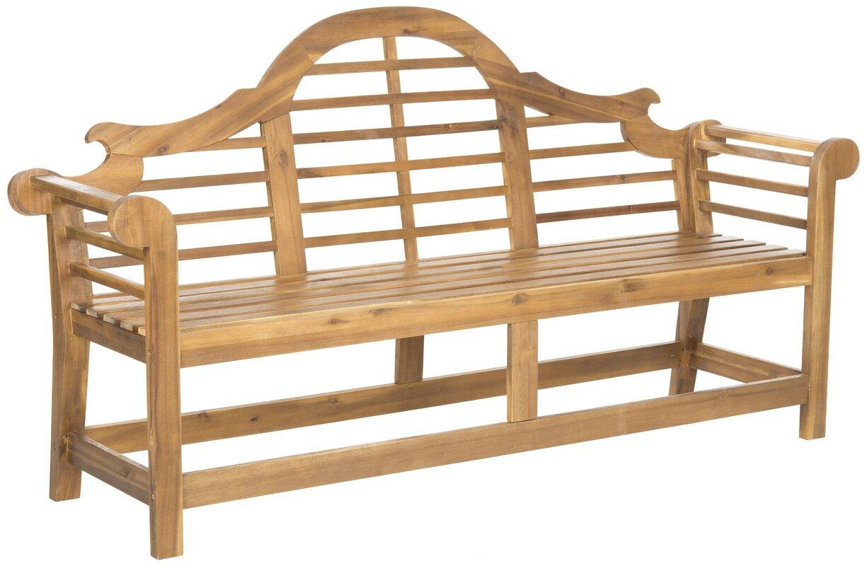 Liddie Acacia Wood Garden Bench