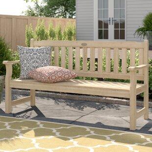 Rosedene Wooden Bench by Bel Étage