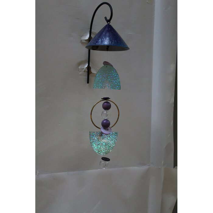 Eco Funky Mobile Solar Ed Wind Chime