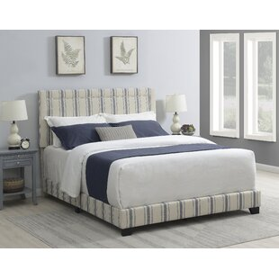 Bluefield Nailhead Trim Upholstered Panel Bed