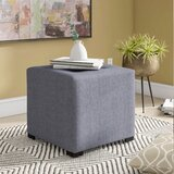 Kirschbaum Tufted Cube Ottoman by Andover Mills™