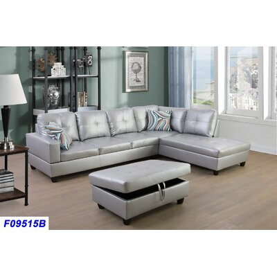 Sensational Andover Mills Russ Sectional With Ottoman Orientation Right Alphanode Cool Chair Designs And Ideas Alphanodeonline