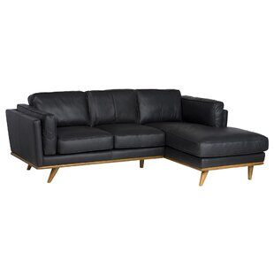 Cardinal Leather Sectional